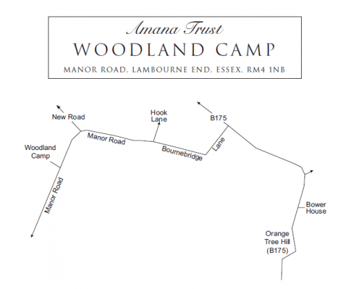 Woodland Camp Map