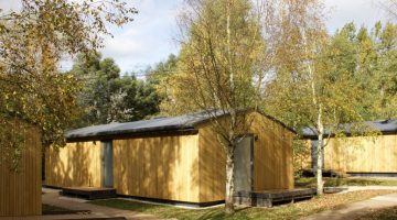 external photo of refurbished cabins
